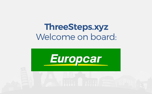 mietwagen von europcar auf threesteps mieten anstarten. Black Bedroom Furniture Sets. Home Design Ideas